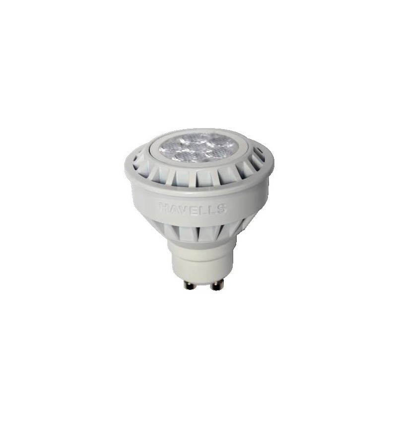 FOCO LED 6.5 W 120 V MR16 GU10 3000 K DIMEABLE