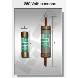 FUSIBLE DE CARTUCHO 200 AMP. 250V