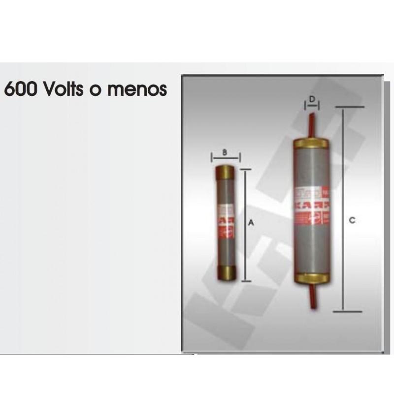 FUSIBLE DE CARTUCHO 100 AMP. 600V