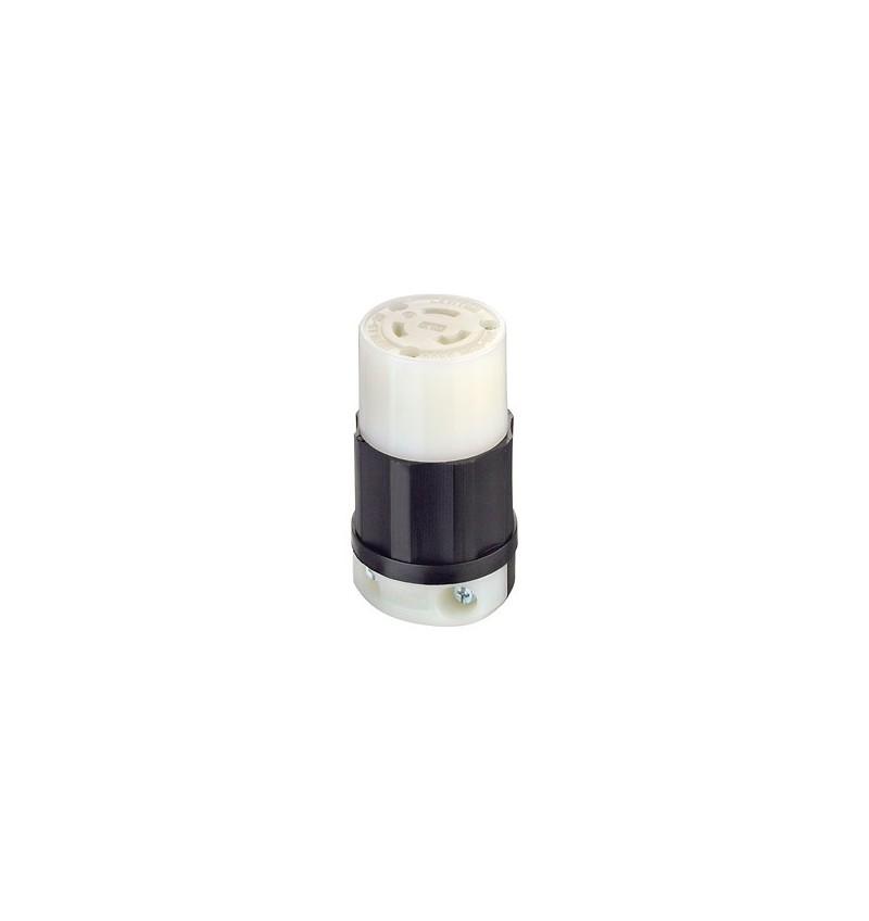 TOMACORRIENTE 3 FASES 3 HILOS 20A 125/250V NEMA L10-20 COLGANTE USO INDUSTRIAL