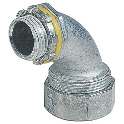 """CONECTOR L.T. 1-1/2"""" (41 mm) CURVO"""