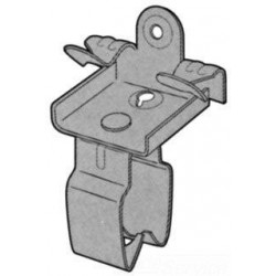 """ABRAZADERA CLIP CONDUIT 3/4"""" (21 mm) MONTAJE EN CABRILLA"""
