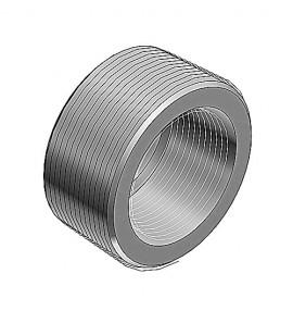 """REDUCCION BUSHING 1-1/2"""" (41 mm) A 3/4"""" (21 mm)"""