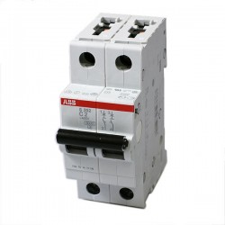 INTERRUPTOR TERMOMAGNETIC 2P 16 A 480VAC Tipo Riel Din 6 kAIC
