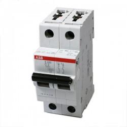 INTERRUPTOR TERMOMAGNETIC 2P 40A 480VAC Tipo Riel Din 6 kAIC