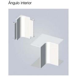 ANGULO INTERIOR PARA CANALETA 22mm BLANCO