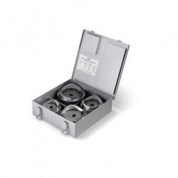 "Juegos de sacabocados modelo KOPD-254 2-1/2""-4"" en caja metalica."