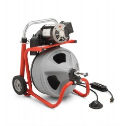 Limpiadora de desagües modelo K-400 con C-31 IW
