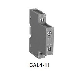 Contacto Auxiliar Lateral 1NA - 1NC CAL4-11para contactor AF09 - AF96