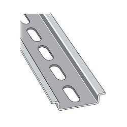 Riel Din Perforado 35 x 7.5 mm