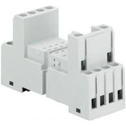 Base para relevador miniatura CR-M4SS 2c/o or 4c/o CR-M relay