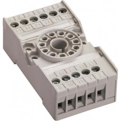 Base para relevador miniatura CR-U3SM Tipo Universal, 11 pines CR-U