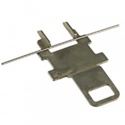 Adaptador para riel DIN, solo se coloca en XLP000