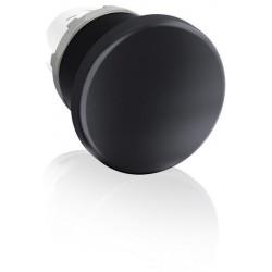 Boton momentaneo color negro cabeza tipo hongo