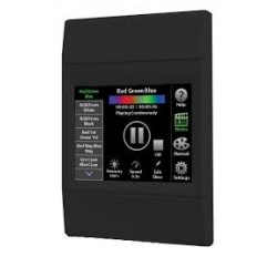 Pantalla Tactil programable para Escenas decorativas de colores 120-277V Negra