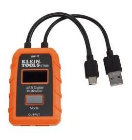 MULTIMETRO DIGITAL USB-A/USB-C (TIPO A Y C)