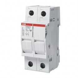 Portafusible para fotovoltaico Unipolar de 32 A, para Fusible de 10.3x38mm, 1000 VDC E91/32 PV