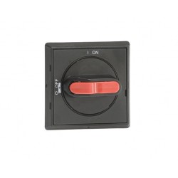 Manija Selector IP65 para OT16FT…125FT color Negro rojo no usa varilla