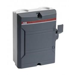 Seccionador en Gab. Plastico 3x40A 400V IP65 BW340TPN