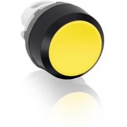 Boton pulsador Amarillo momentáneo MP1-10Y No iluminado rasante