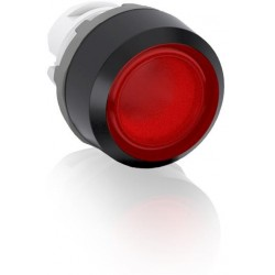 Boton pulsador Rojo momentáneo MP1-11R iluminado sin foco