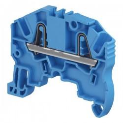 Clema de paso cal. 12 AWG 24A 600V Color Azul