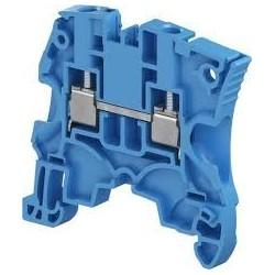 Clema de paso Cal. 12 AWG 32A 600V Color Azul Tipo Tornillo