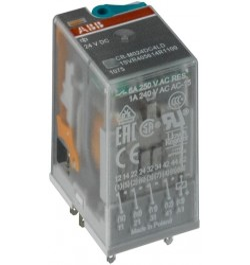 Relevador Miniatura CR-M012DC2L 12A 250VAC 2 c/o Bobina 12 VCD, LE