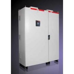 Banco Automatico de Capacitores de 100 KVAR 240V con ITM ppal, controlador RVT, rechazo armonicos