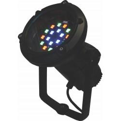 REFLECTOR RGB TPS1 18LED RGB MVOLT MFL YM ARTL RDM 38TL 12DMX GS DDB