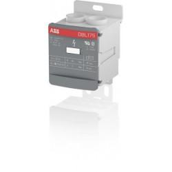 Bloque distribucion 1P 175A 1000V AC/DC Cal. 2/0 AWG Entrada Cal. 6 AWG Salida x 6