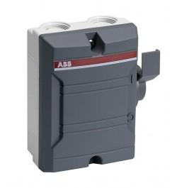 Seccionador en Gab. Plastico 3x25A 400V IP65 BW325TPN