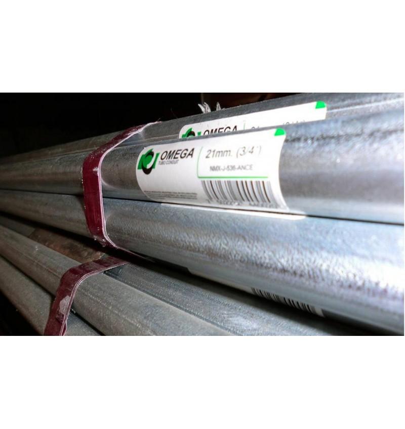 """TUBO PARED DELGADA 2 1/2"""" (63mm)"""