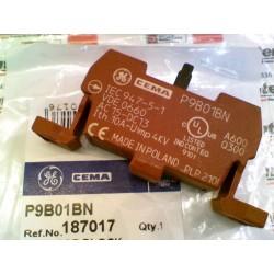 CONTACTO 1 NC PARA USO EN CAJA PLASTICO PARA BOTONERIA 22mm P9