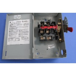 Interruptor de seguridad 2P 60A Fusible N1