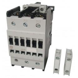 CONTACTOR 80A, 25HP 220V 3F IEC BOBINA 220VAC