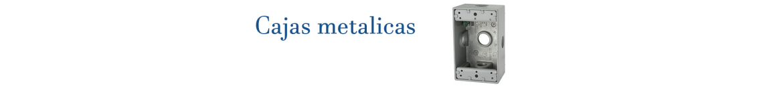 Cajas Metalicas | Indelek