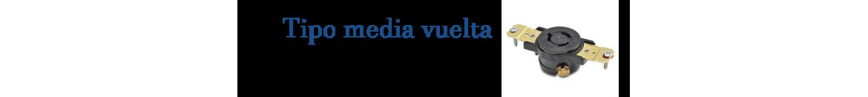 Receptaculos de media Vuelta | Indelek