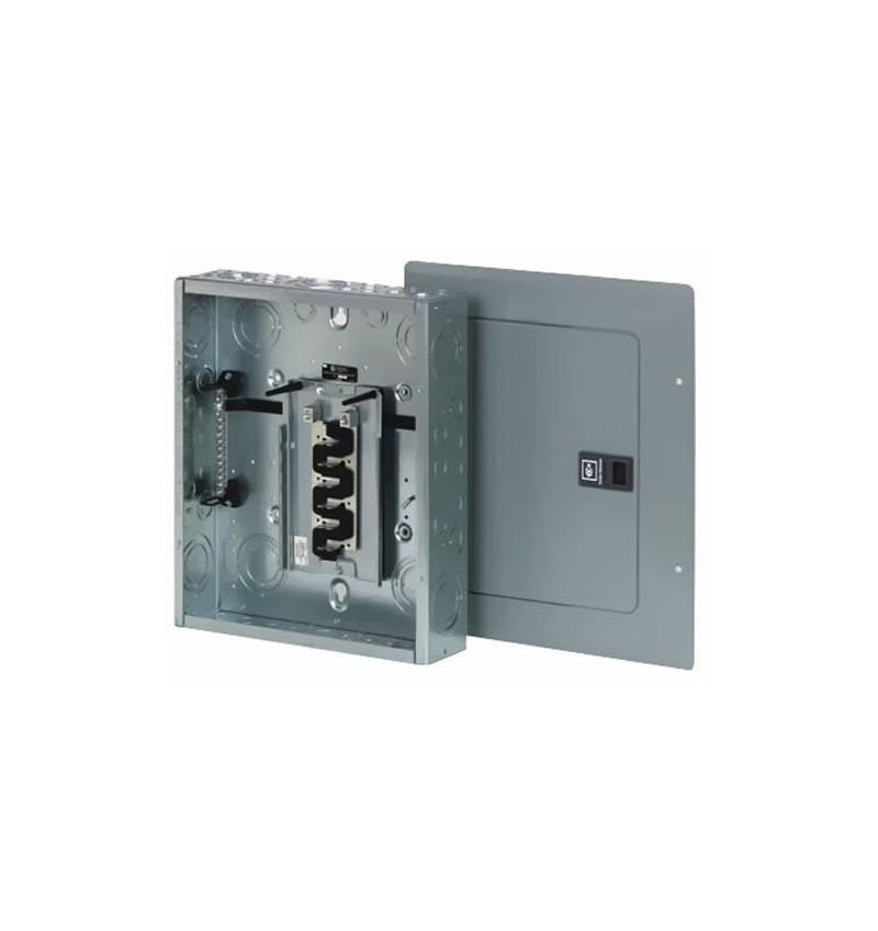 CENTRO DE CARGA 1F 4P 120/240 VAC 100 AMP ZAPATAS PRINCIPALES EMPOTRAR NEMA 1