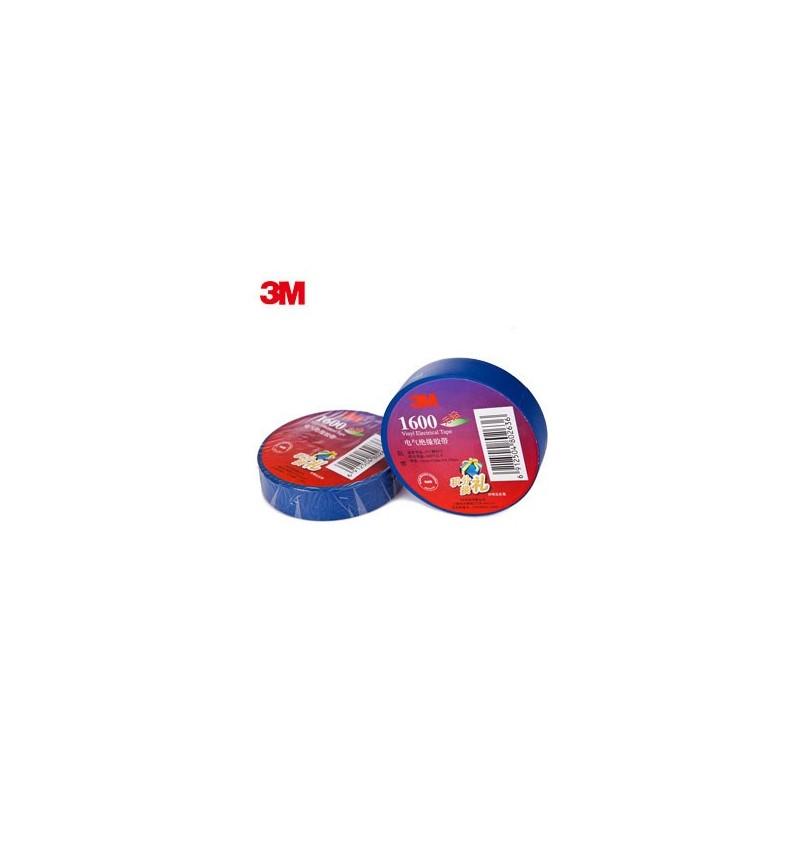 CINTA TEMFLEX 1600 AZUL 3/4in X 27Ft (19mm X 8.3 m)