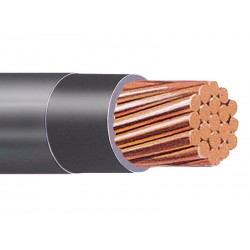 CABLE THWN 4 AWG NEGRO