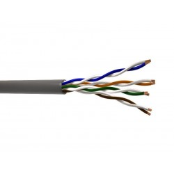 CABLE UTP CAT 5E COLOR AZUL VIAKON