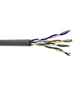 CABLE UTP CAT 5E COLOR GRIS VIAKON