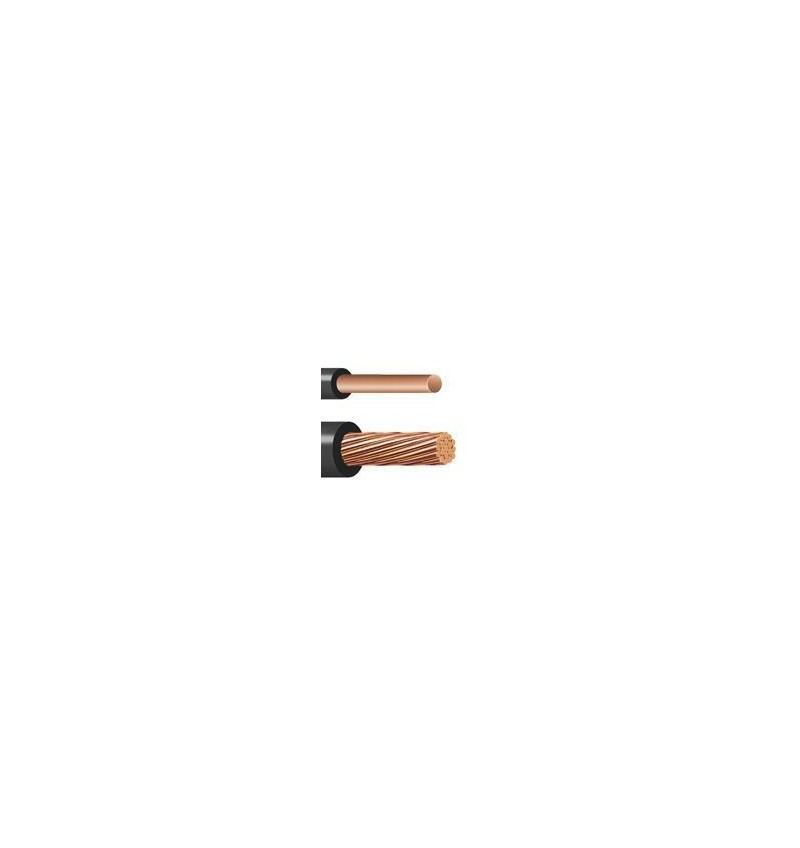 CABLE THW-LS 6 AWG NEGRO EN ROLLO INDIANA 600V
