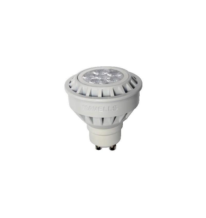 FOCO LED 6.5 W 120 V MR16 GU10 3000 K DIMEABLE