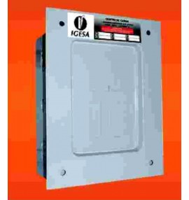 "CENTRO DE CARGA 1F 6P 120/240 VAC 100 AMP ZAPATAS PRINCIPALES EMPOTRAR NEMA 1 PASTILLA 3/4"""