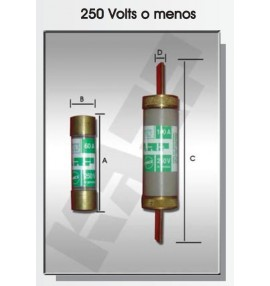 FUSIBLE DE CARTUCHO 30 AMP 250V