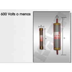 FUSIBLE DE CARTUCHO 100 AMP. 600V