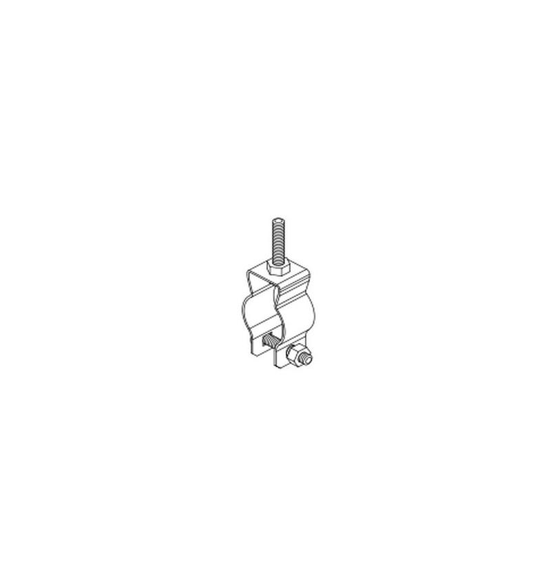 """ABRAZADERA CLIP """"O"""" PARED GRUESA 1 1/4"""" (35 mm)"""