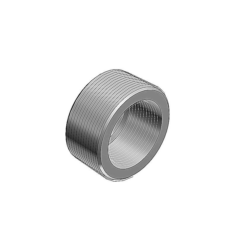 """REDUCCION BUSHING 1-1/2"""" (41 mm) A 1"""" (27 mm)"""
